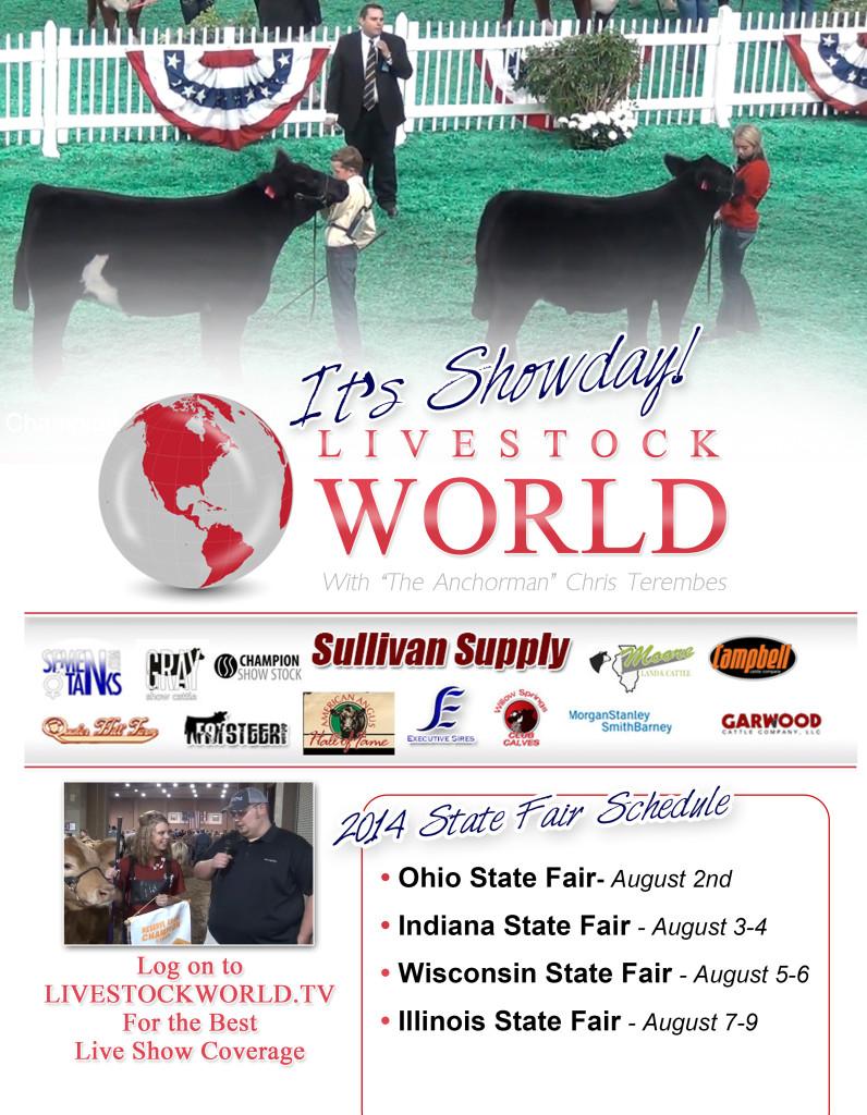 2014 indiana state fair dog show schedule
