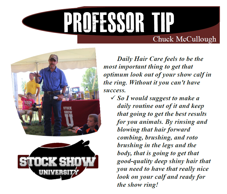 Chuck McCullough Fitting Tip 2