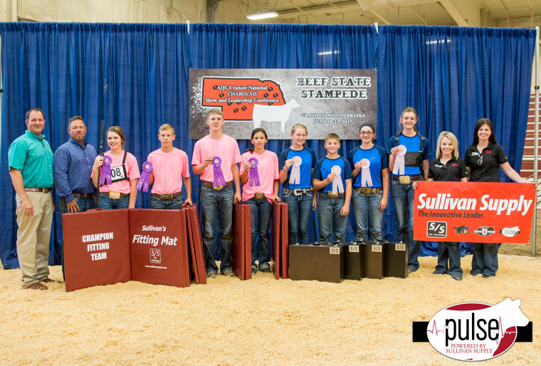 Junior National Charolais Show | Team Fitting Contest
