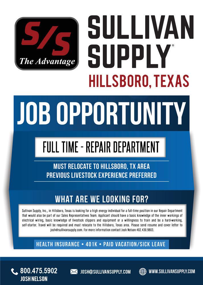 Sullivan Supply, Hillsboro, Texas is Expanding | The Pulse