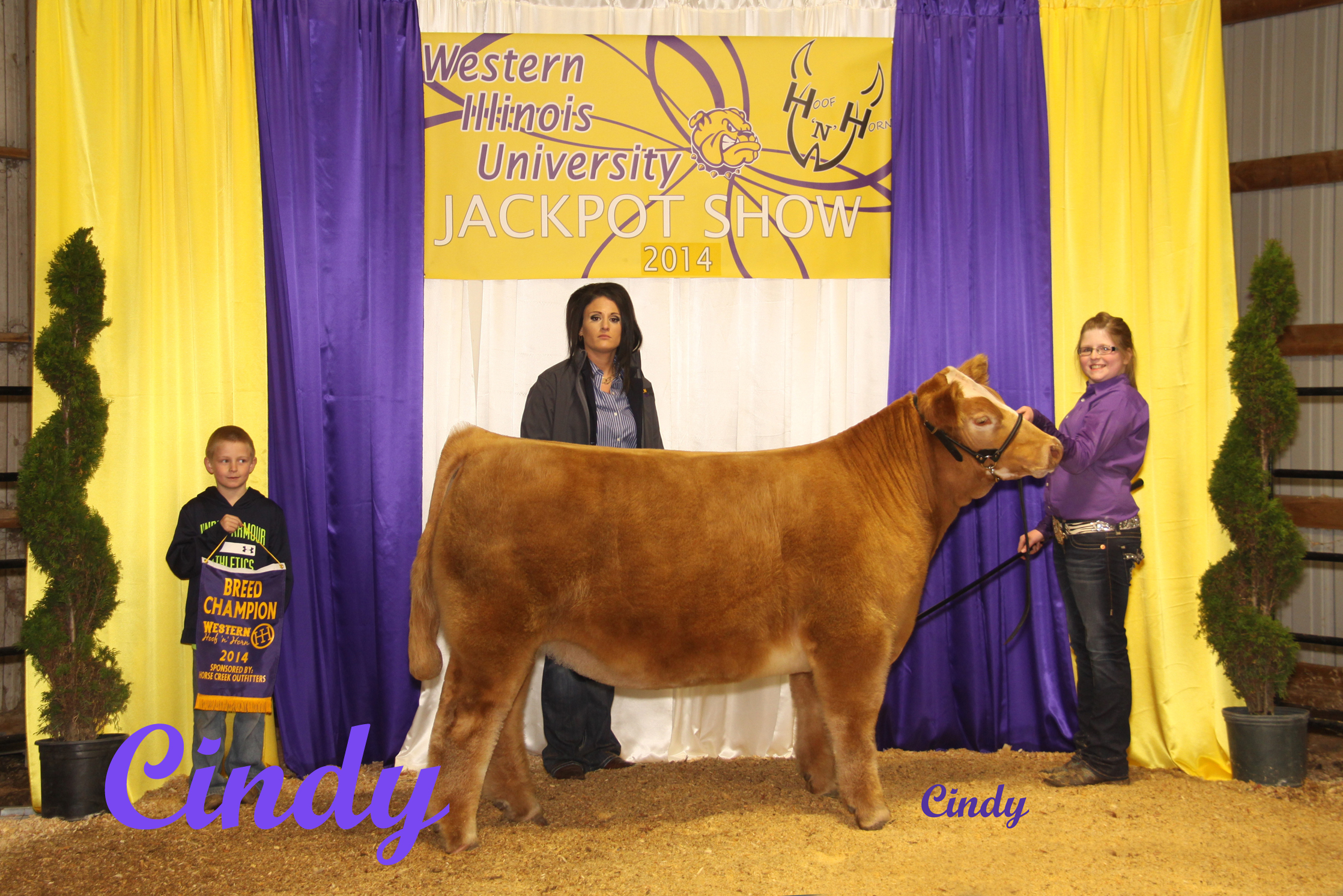 10 5TH OVERALL STEER (CH AOB) OLIVIA LDWELL