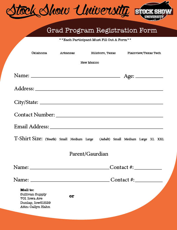 Grad Program registraion form-south-REDO