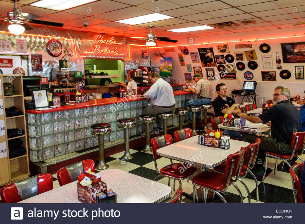 illinois-springfield-historic-route-66-charlie-parkers-diner-restaurant-ECDNG1