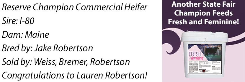 NE 4-H Res Commercial Heifer