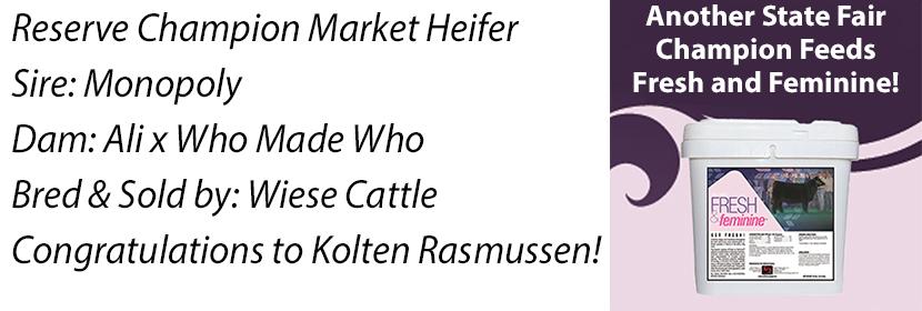 NE 4-H Res Market Heifer FF