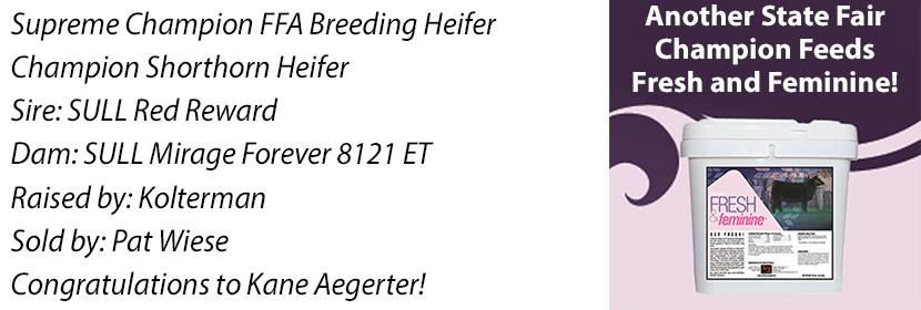 NE FFA Supreme Heifer FF