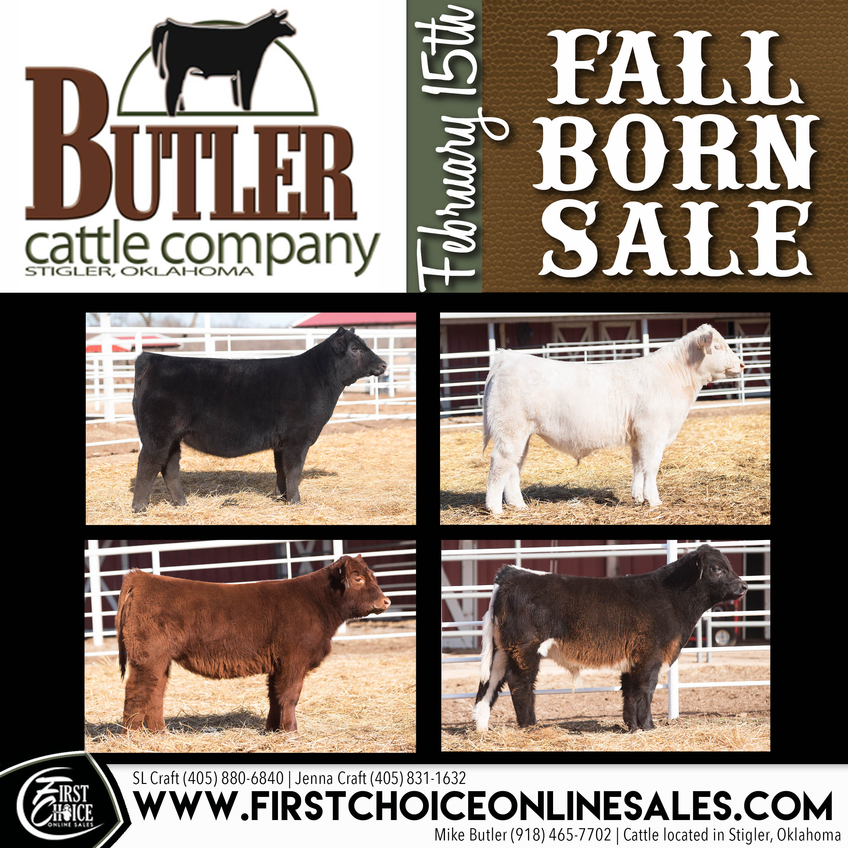 Company Butler butler cattle company – fall born sale – sullivan supply, inc.