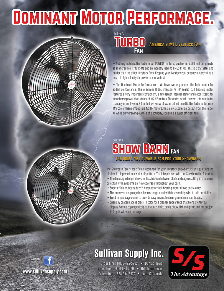 Sullivan's Turbo & Show Barn Fan | The Pulse